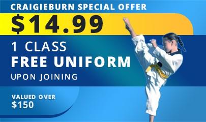 Kids Taekwondo Classes in Craigieburn